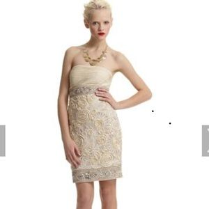 SUE WONG EMBROIDER COCKTAIL DRESS, great condition